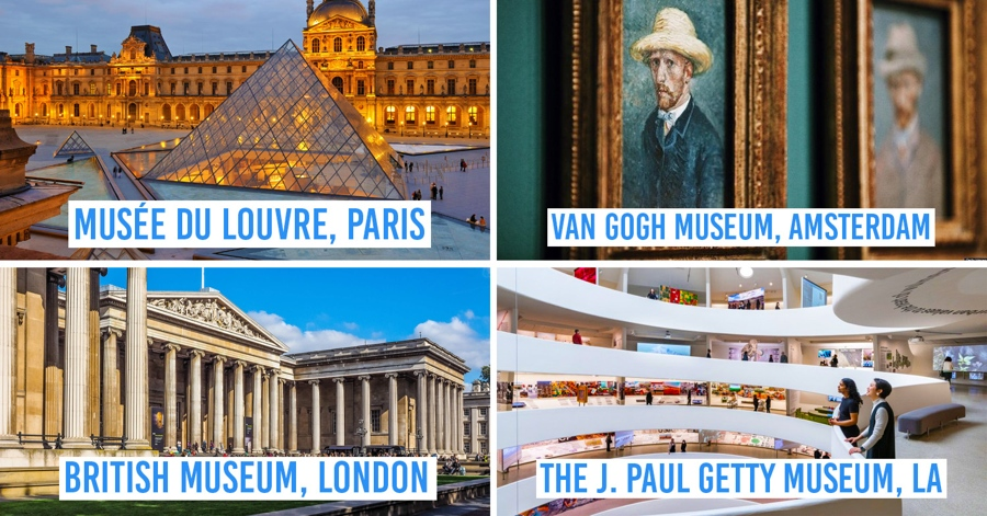 13 International Museums With Free Virtual Tours You Can Watch From Your Bedroom During Quarantine