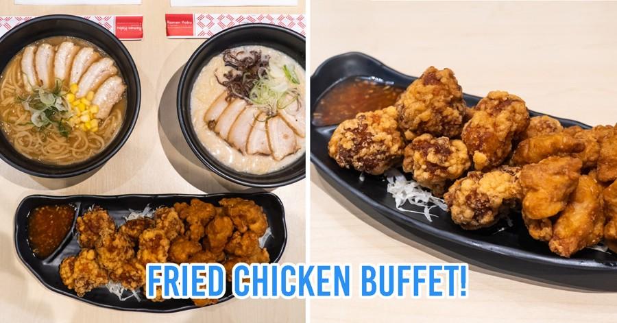 Bangkok's Ramen Habu Serves Ramen Sets With Unlimited Fried Chicken For Only ~$6