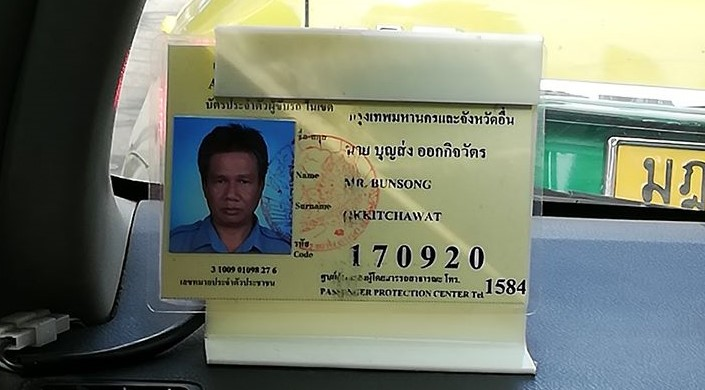 Taxi Driver Gives Out Free Face Masks To Passengers In Thailand Despite Mask Shortage
