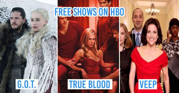 HBO Is Offering Free Movies & Shows For A Limited Time To Binge On During Self-Isolation