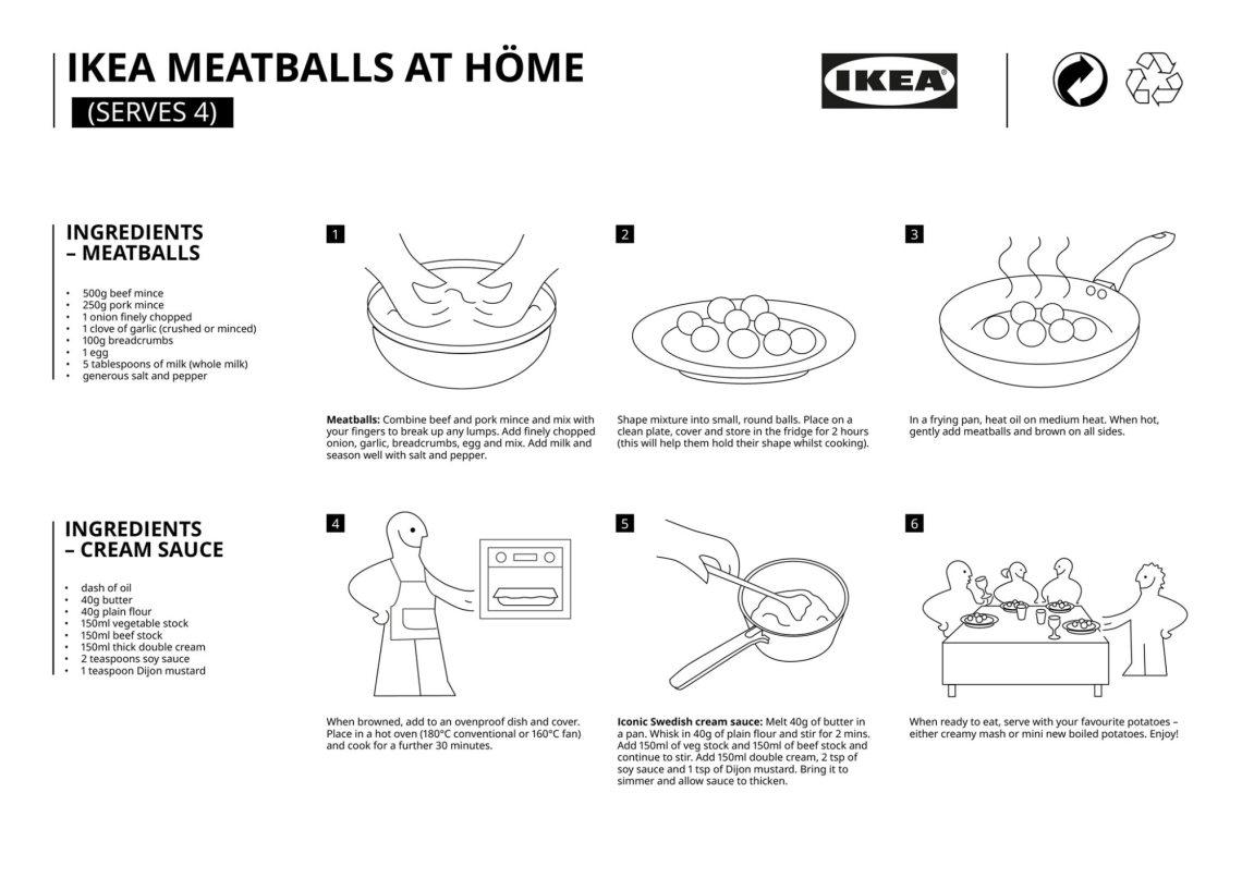 IKEA Has Shared Its Swedish Meatballs & Gravy Recipe For Us To Cook During Self-Isolation At Home