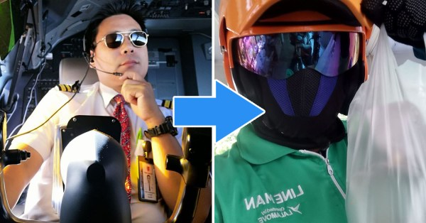 Unemployed Thai Pilot Works As Delivery Rider Amid COVID-19 Job Crisis, Says It's Nothing To Be Ashamed Of
