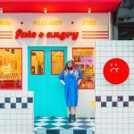 Newly Opened Fats And Angry In Bangkok Looks Like 80s American Diner