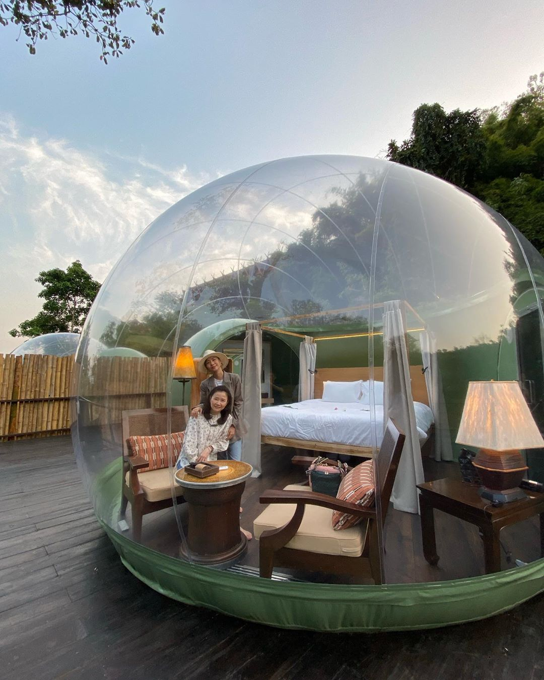 Clear Bubble Tents In Thailand