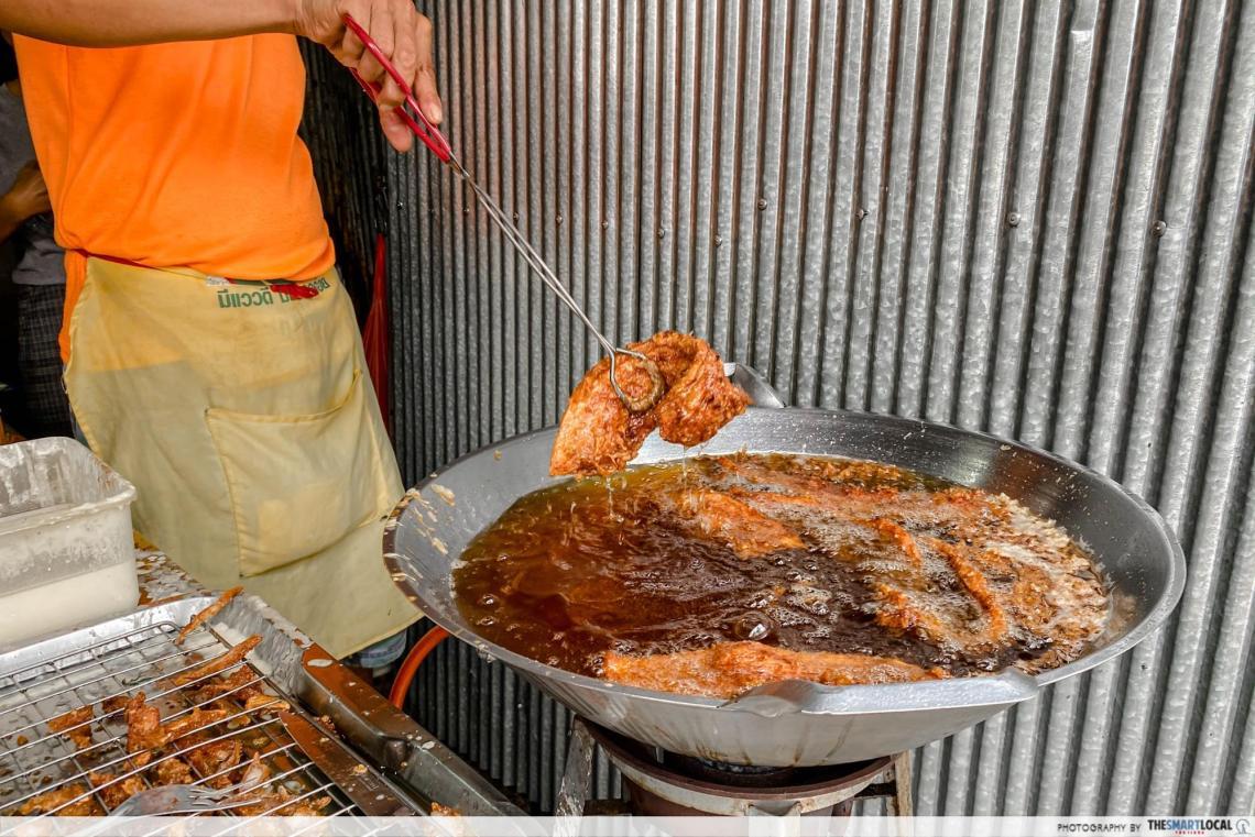 Deep-Fried Pork near BTS