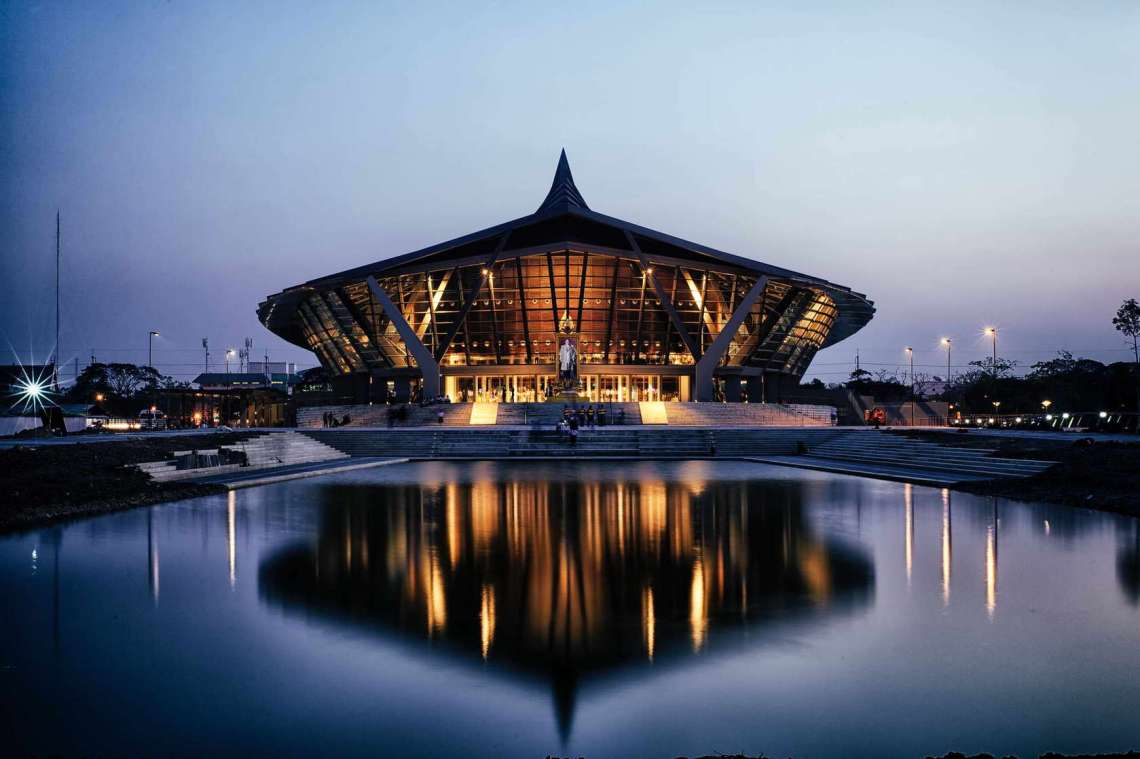 SpectacularBuildings mahidol water