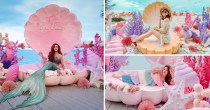 Papa Beach Pattaya Is A Pretty Cafe With Pastel Mermaid Photo-Ops Just 1 Hour From Bangkok