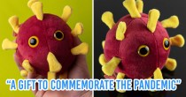 Online Store Sells COVID-19 Plushies And We're Not Sure How To Feel About It