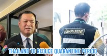 Thai Health Minister Plans To Reduce Quarantine Period To 10 Days Or Even Remove It Entirely