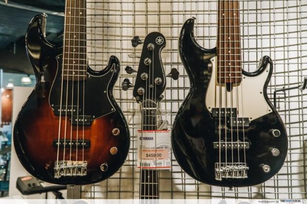 yamaha bb series electric guitar