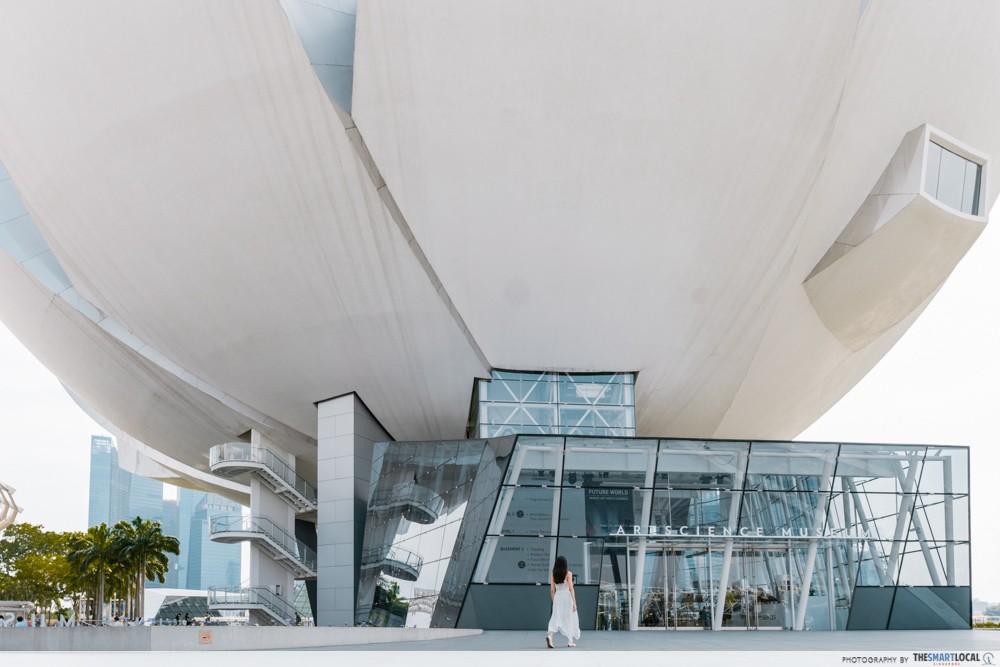 Artscience museum singapore mbs