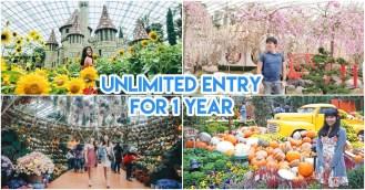 Gardens by the Bay membership discount DBS