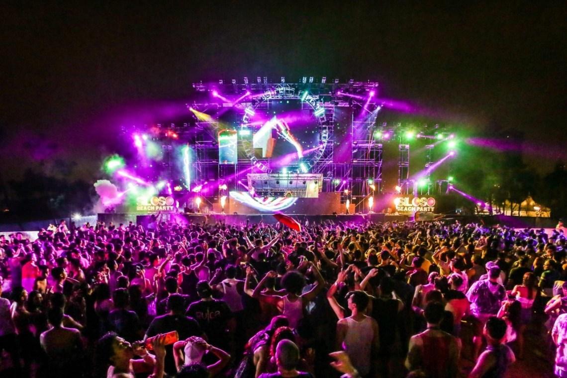 Sentosa Siloso Beach Party - DJ Lineup 2018