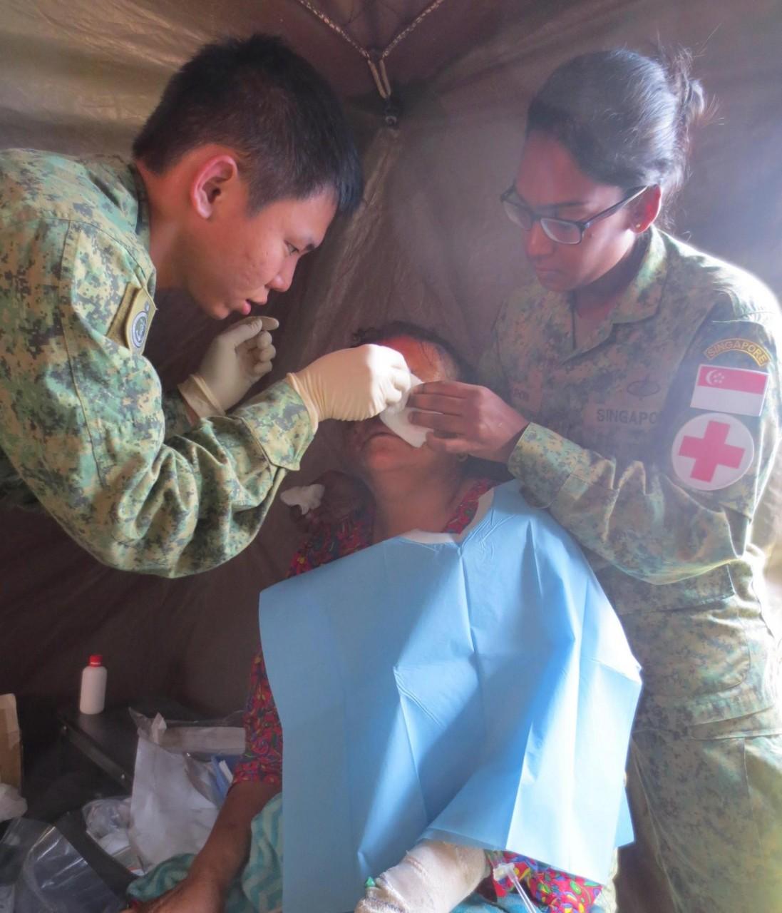 singapore nepal mission saf