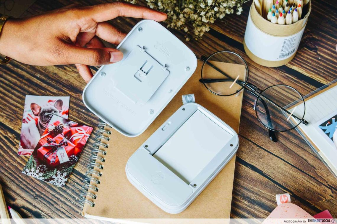 hp sprocket new edition portable printer