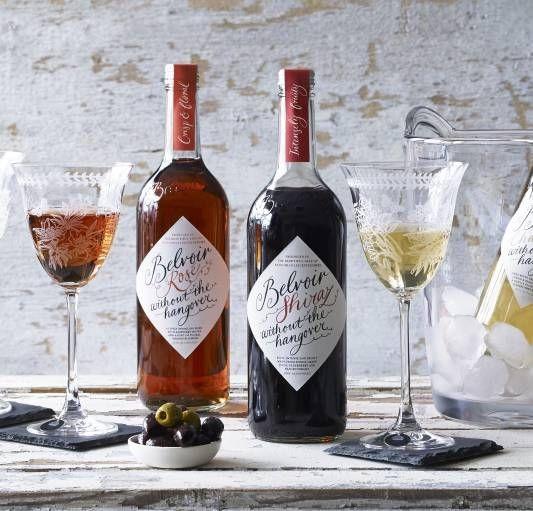 Belvoir Non-alcoholic Rose Wine Honestbee