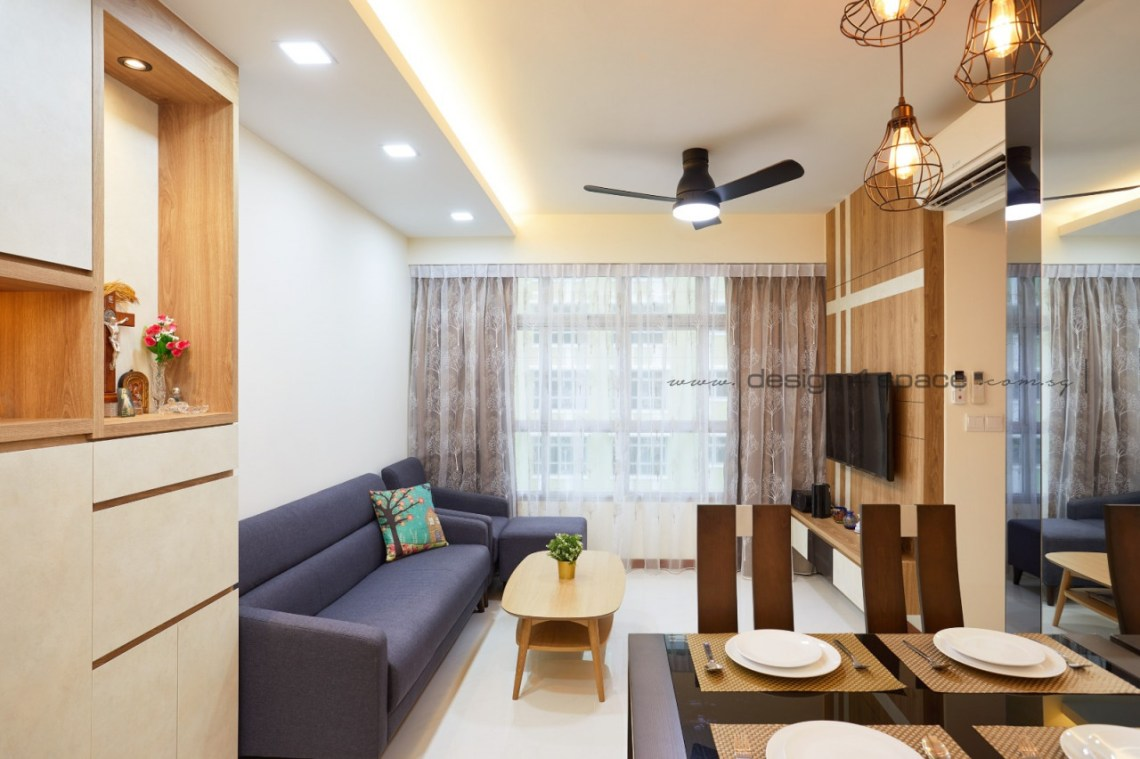 Design4Space - HDB renovations budget - cosy