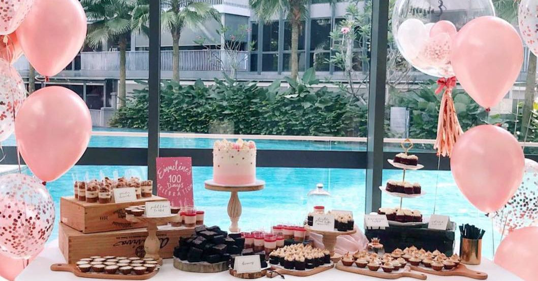 Phenomenal 10 Places To Get Dessert Tables In Singapore For Ig Worthy Personalised Birthday Cards Veneteletsinfo