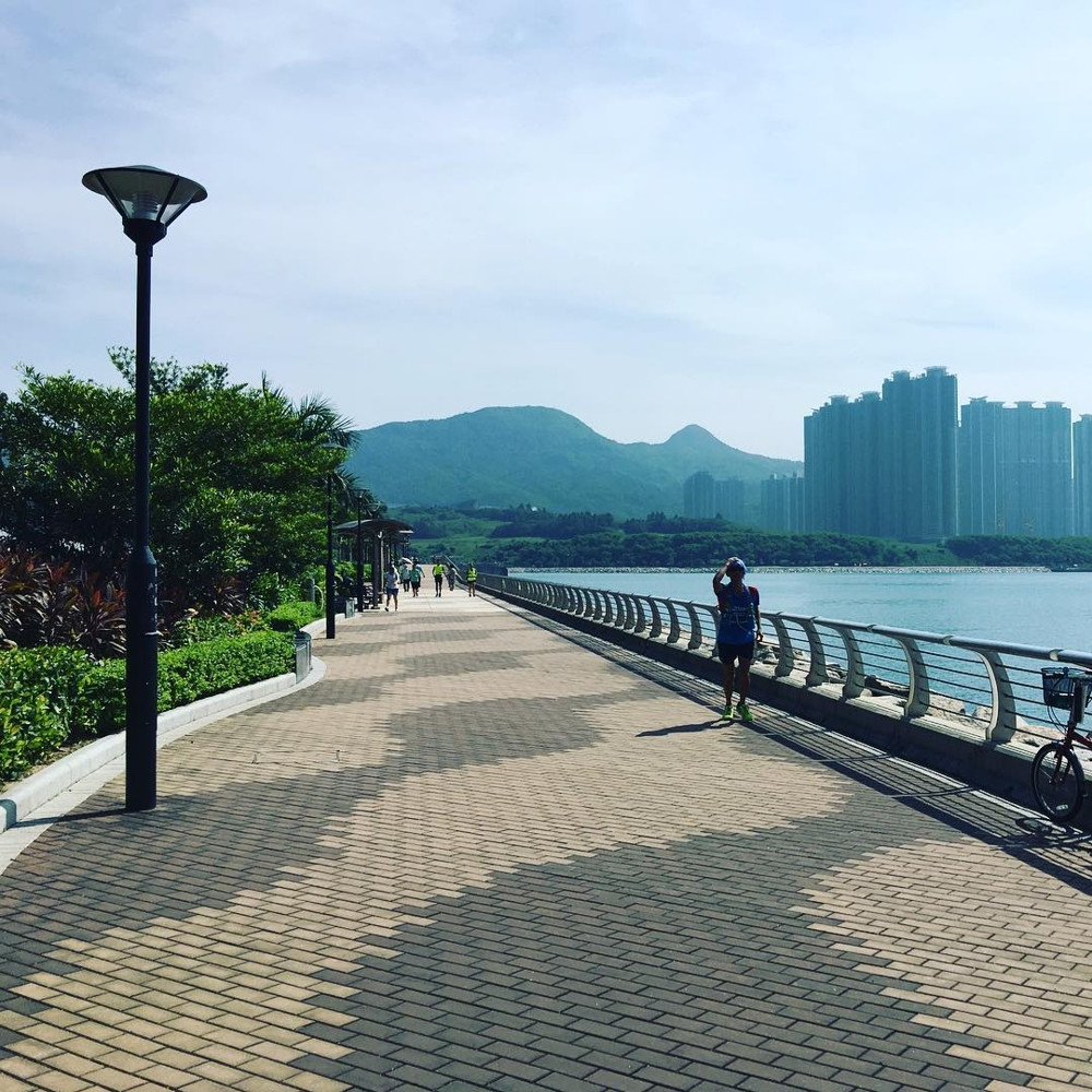 Hong Kong cycling trails - Tseung Kwan O Waterfront Park