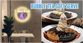 bubble tea soft serve ice cream twenty grammes