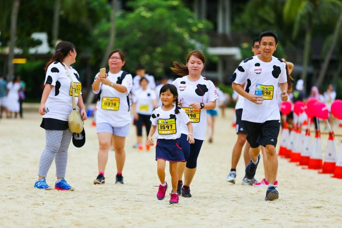 3.5 km fun run - Meiji Run 2019