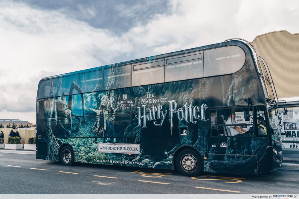 Harry Potter Studio Tour bus
