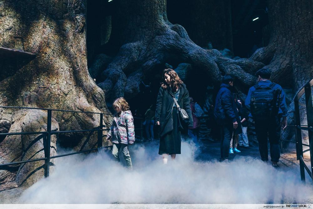 Harry Potter Studio Tour - The Forbidden Forest