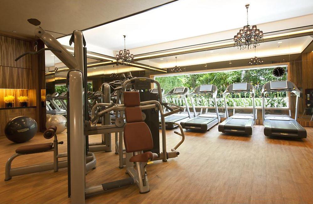 mandarin suite gym