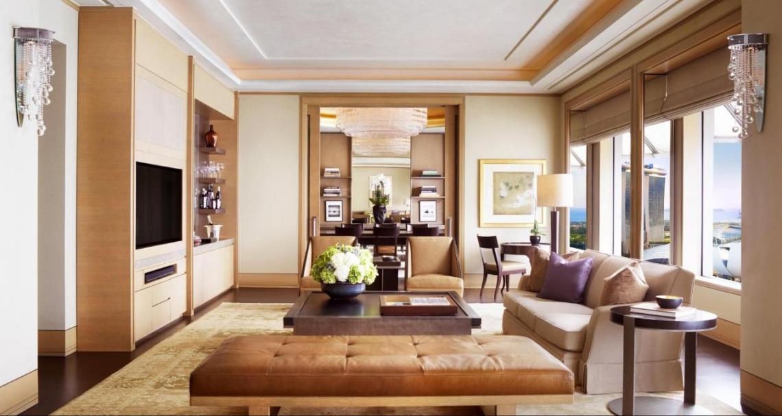 ritz suite living room