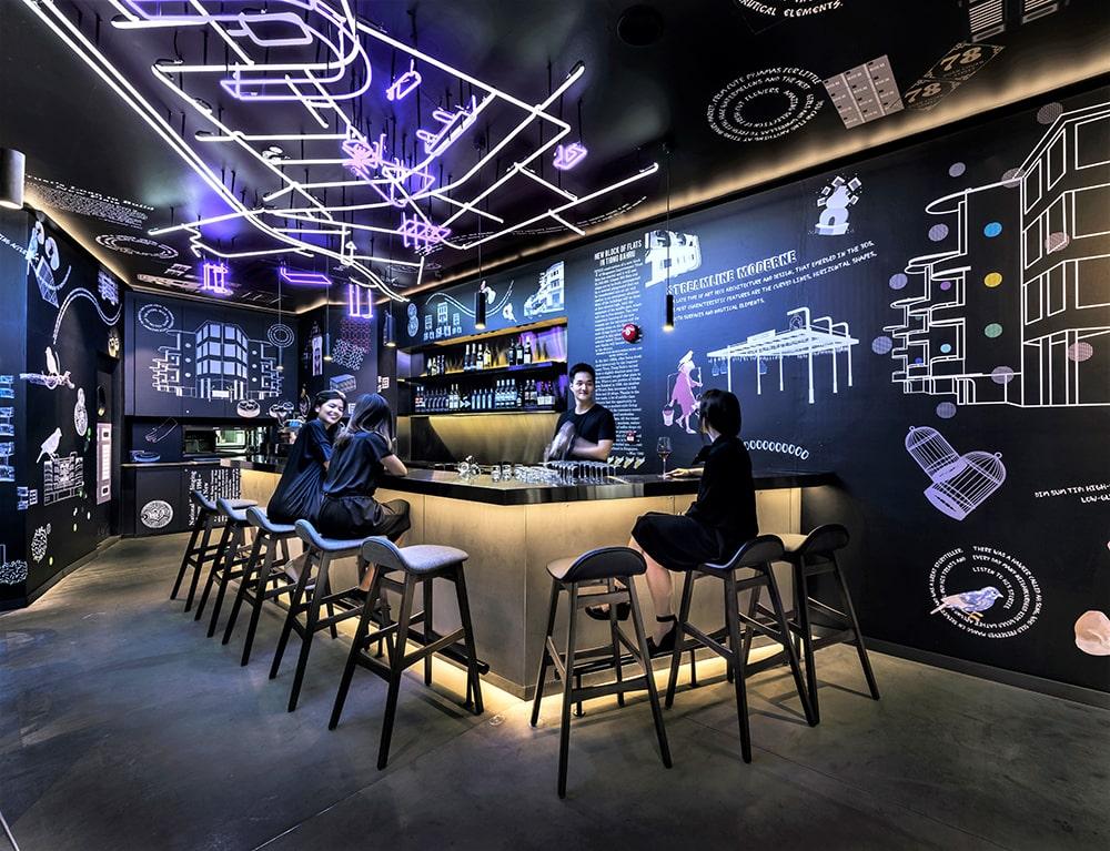 coo hostel bar