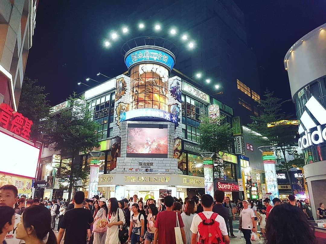 Hotels in Taipei - Ximending shopping area