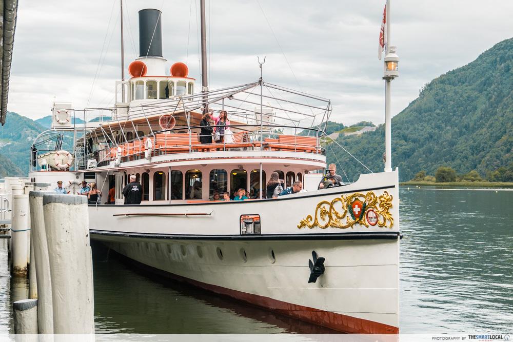 Lake Lucerne Cruise, Switzerland