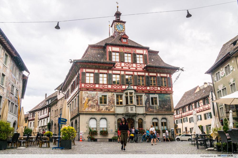 Stein am Rhein, medieval town in Switzerland