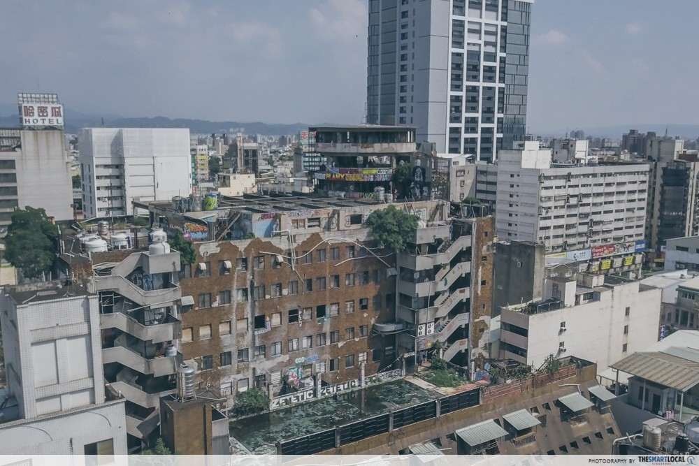 Qian Yue Abandoned Building Taichung