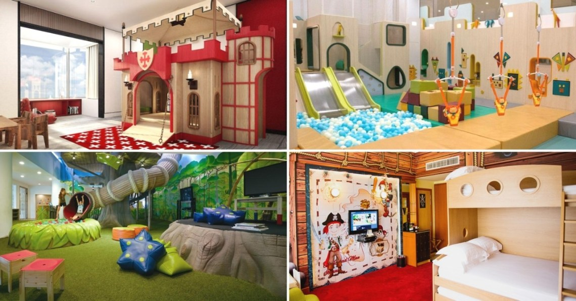 Family staycation hotels in Singapore