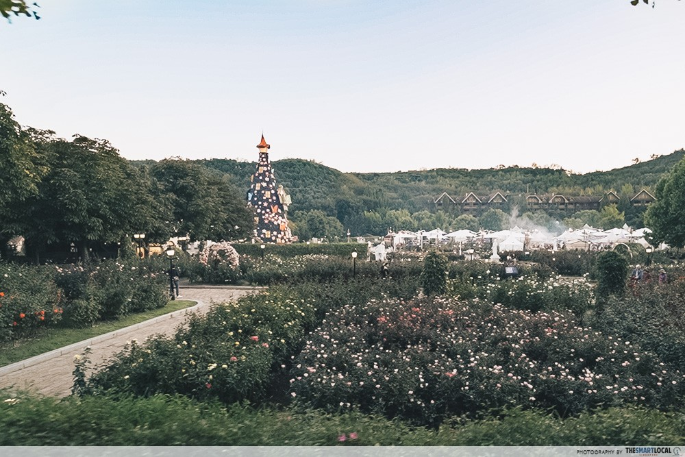 everland korea scenery