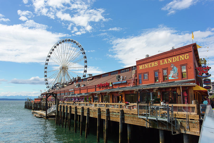 Seattle travel guide SIA - waterfront pier crab pot