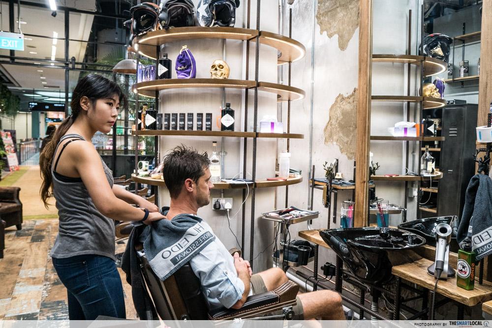 Walking On Sunshine - barber shop