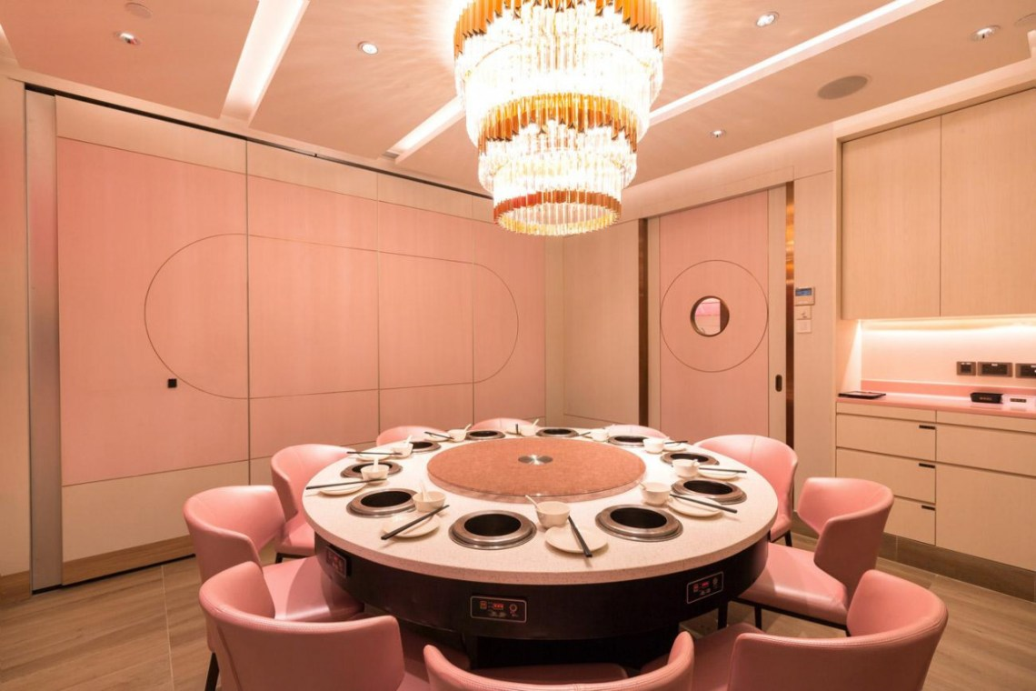 pink beauty in the pot kinex singapore interior