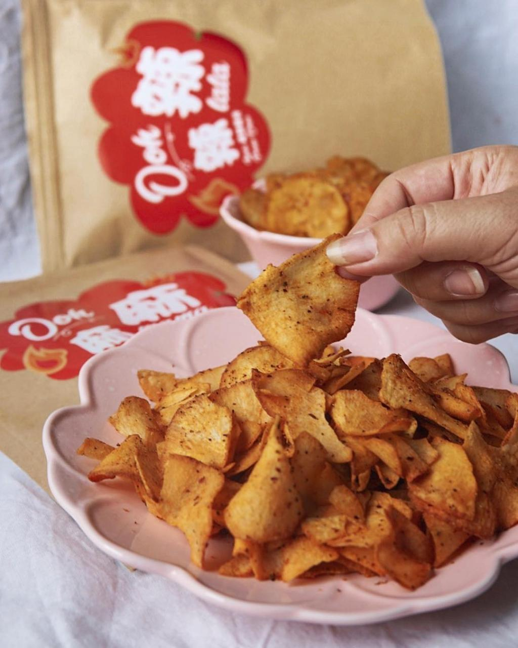 Ooh, Mala Chips in Singapore
