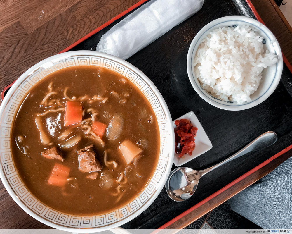 Must-Try dishes in Nigata - Curry rameni