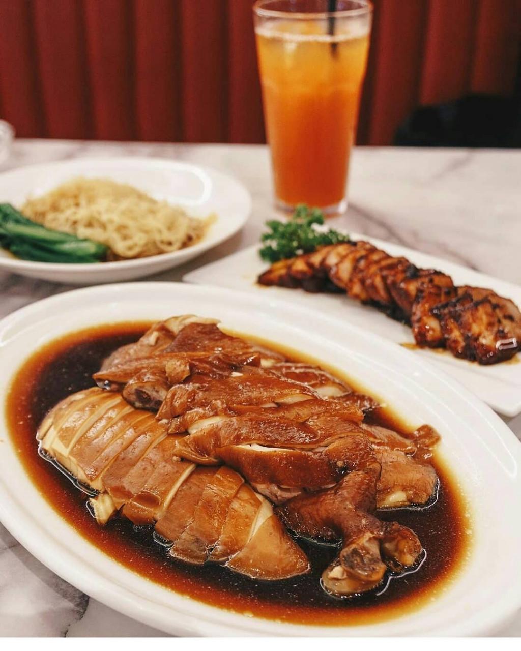 Ho Fook Hei - soy sauce chicken