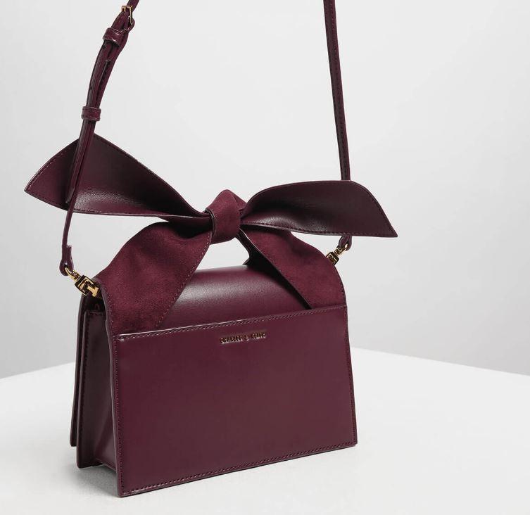 bow top handle bag