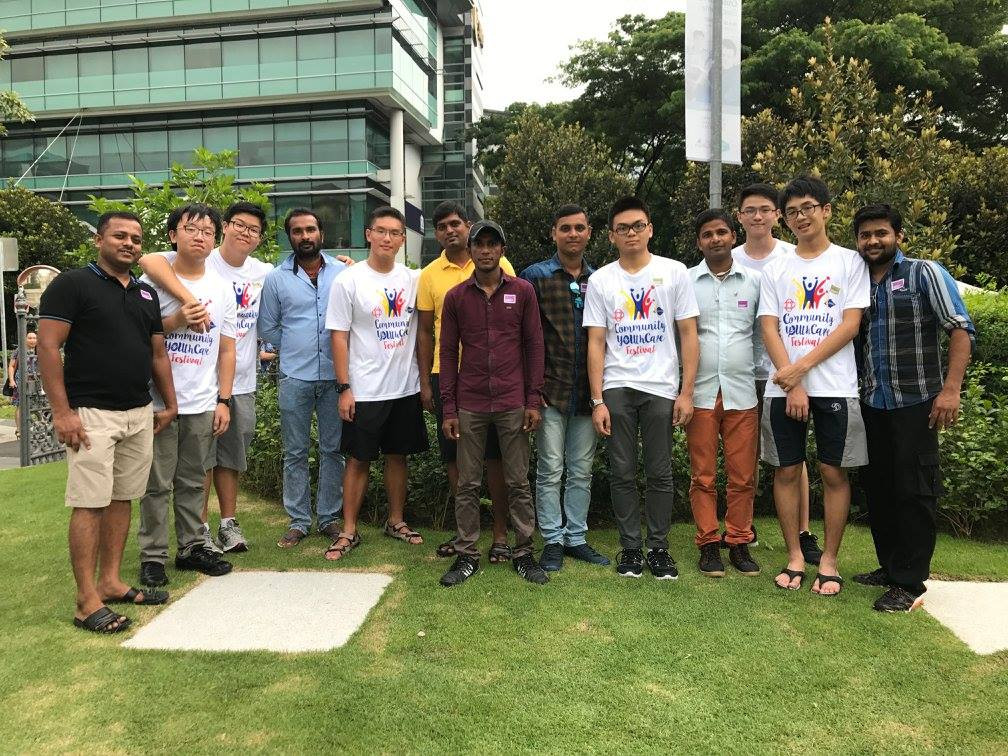 Counselling and community outreach with ACMI