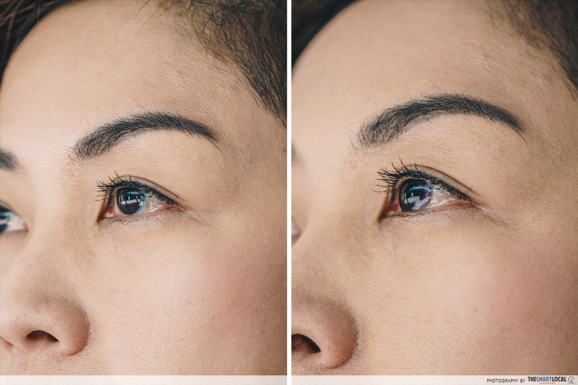 ACUVUE OASYS Contact Lenses with Transitions worn