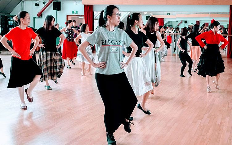 da:ns festival Footwork dance workshops