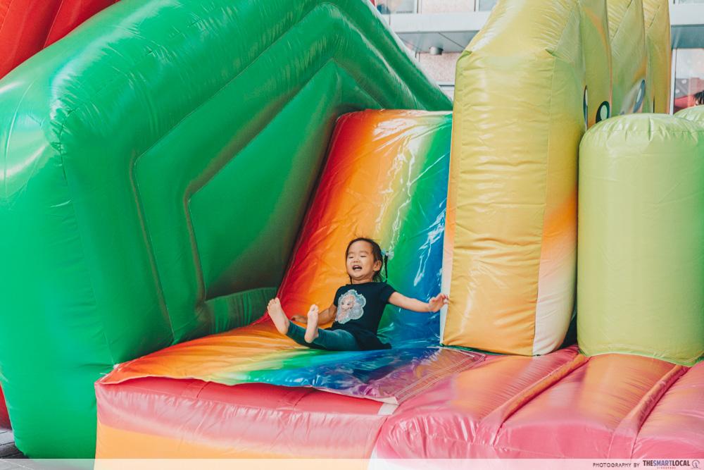 bouncy castle suntec city