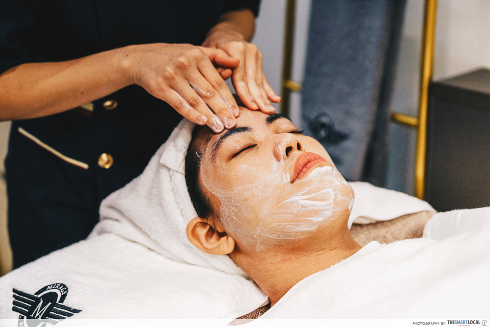 Mirage Aesthetic New Scotts Square Premium Glow Treatment Super Hair Removal Double Cleansing Facial
