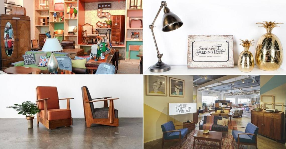 Secondhand furniture stores in Singapore