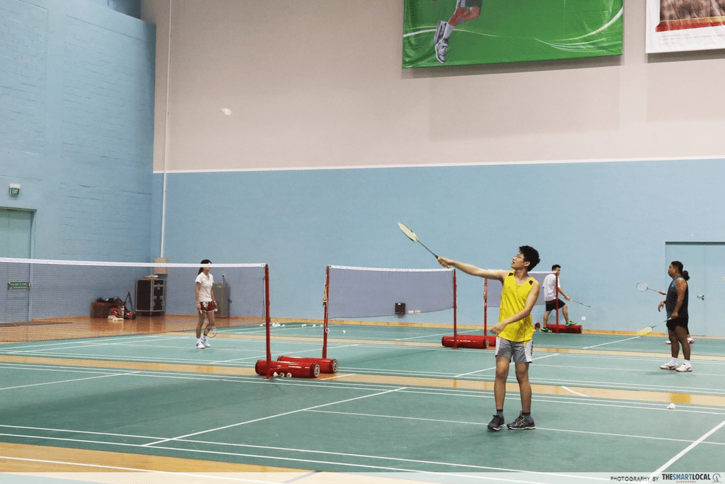 YOUTHx Festival 2019 Singapore Youth Get Active Badminton